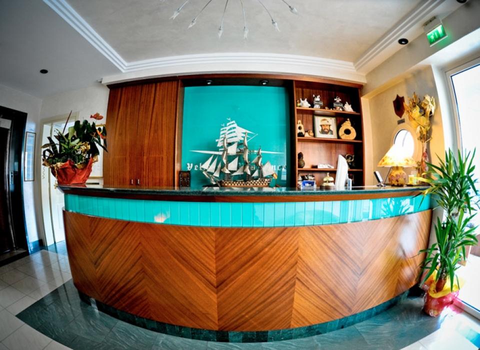 La reception è aperta 24 ore su 24 sempre al Vostro servizio.