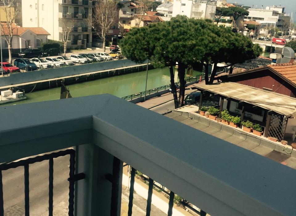 vista sul porto di Riccione