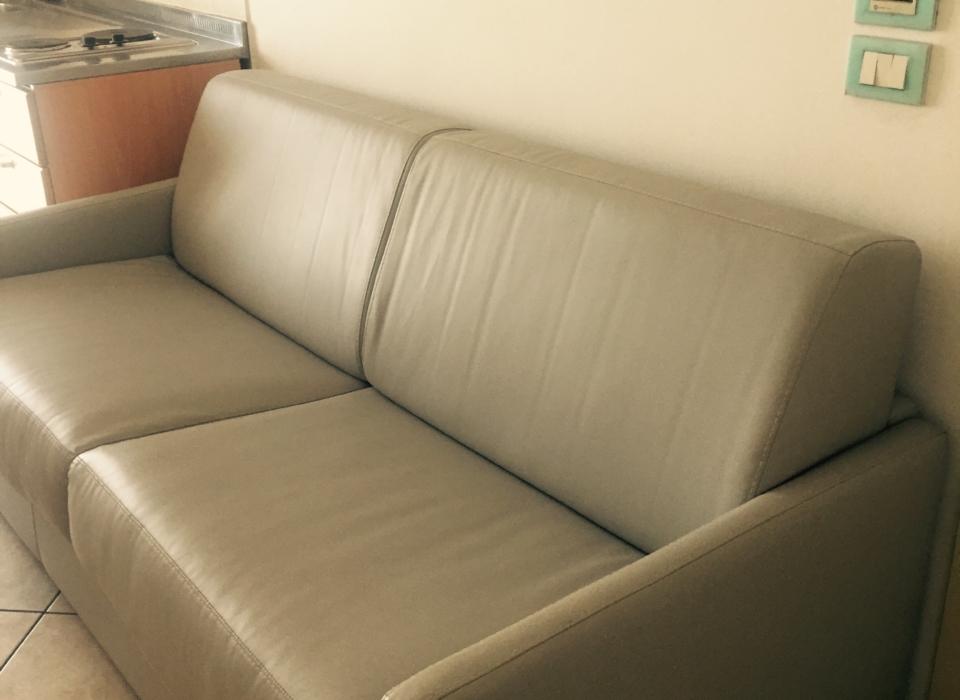 divani letto in pelle nuovi ed eleganti