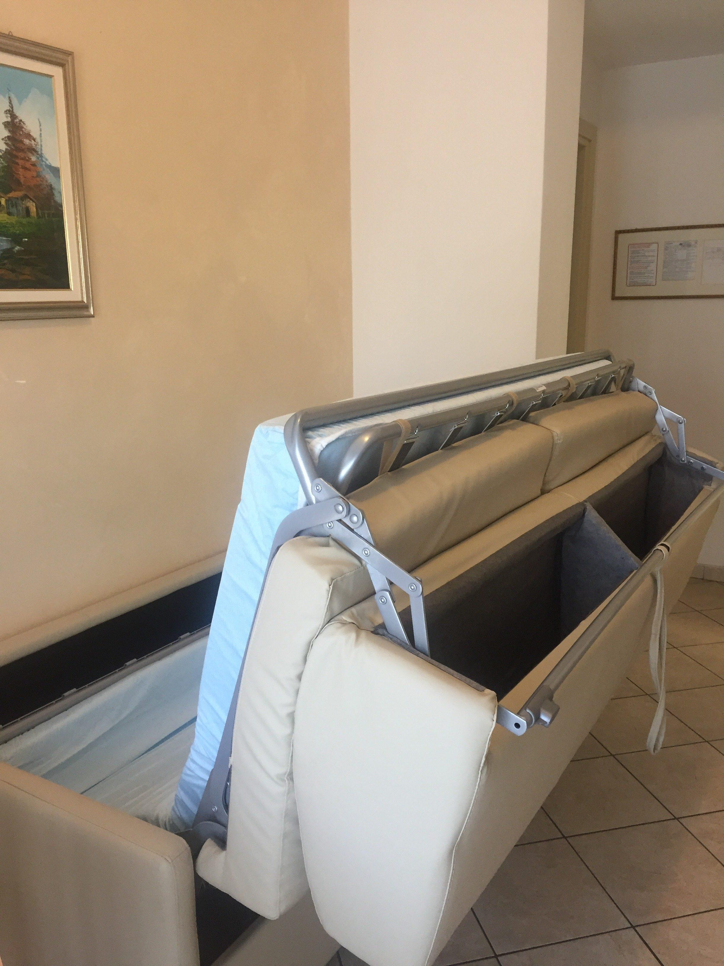 divano letto del residence veliero Riccione