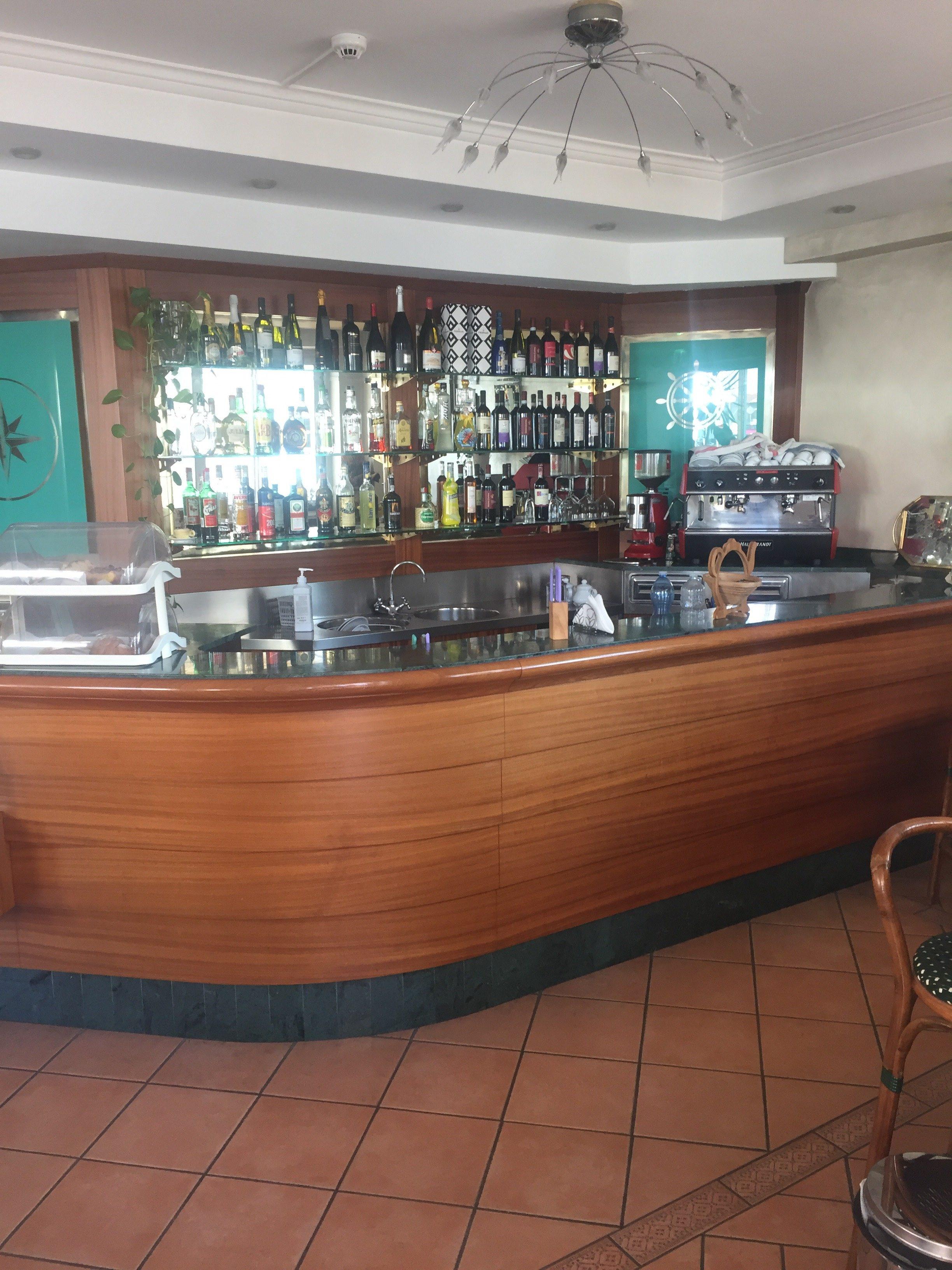 il bar del nostro residence a Riccione