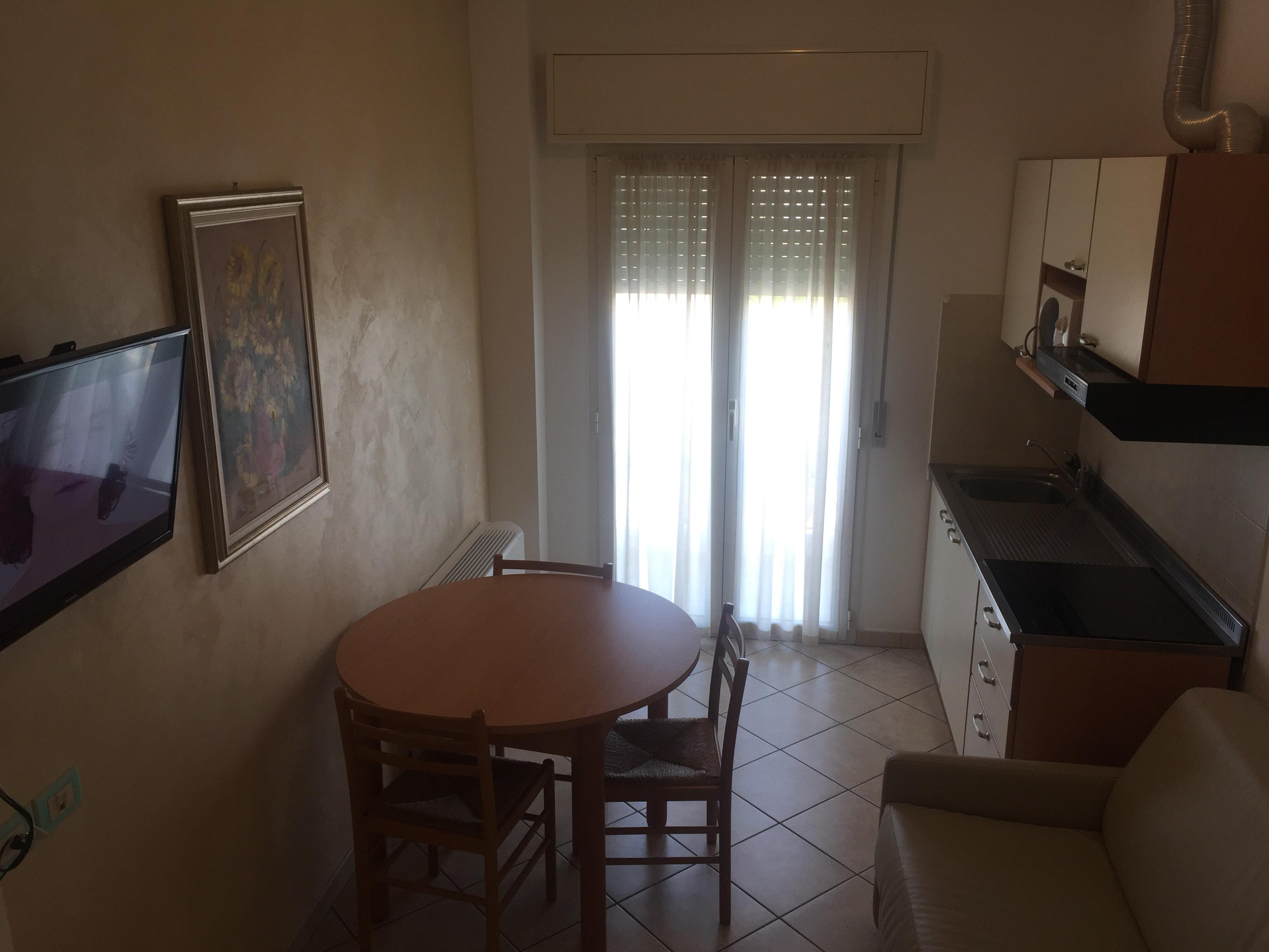 salottino appartamento Perla Residence Riccione
