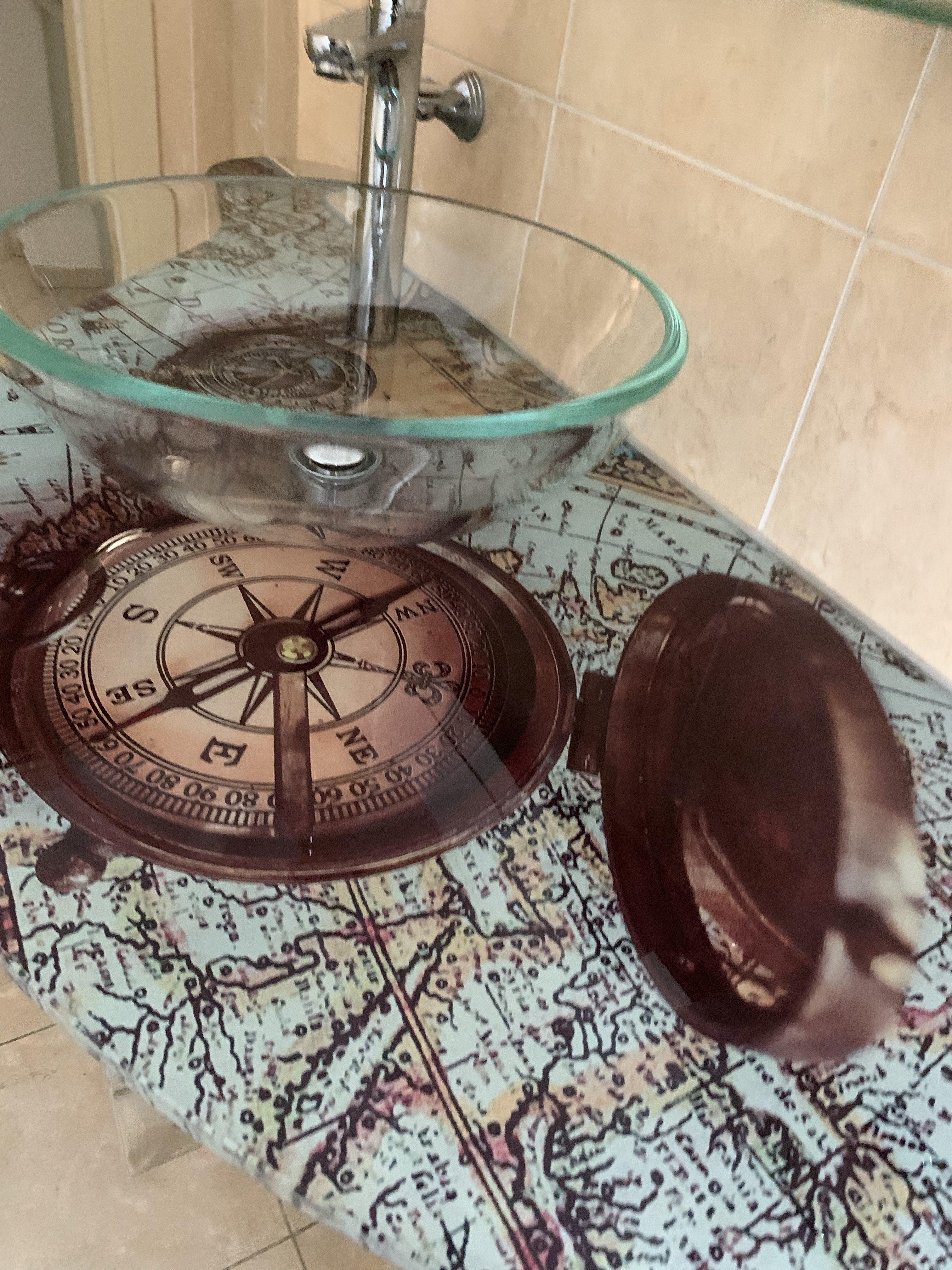 lavabo bussola residence Riccione veliero