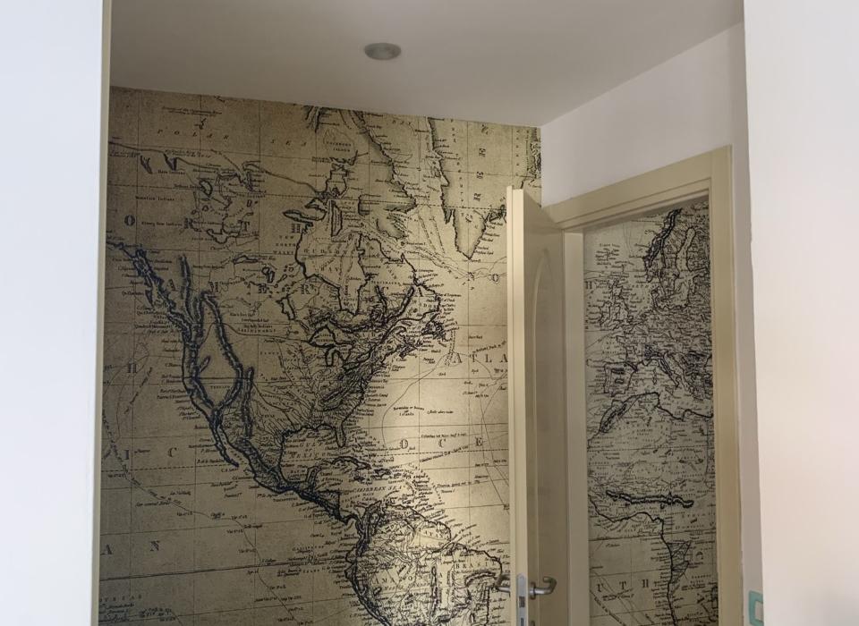 mappe antiche Residence a Riccione Veliero