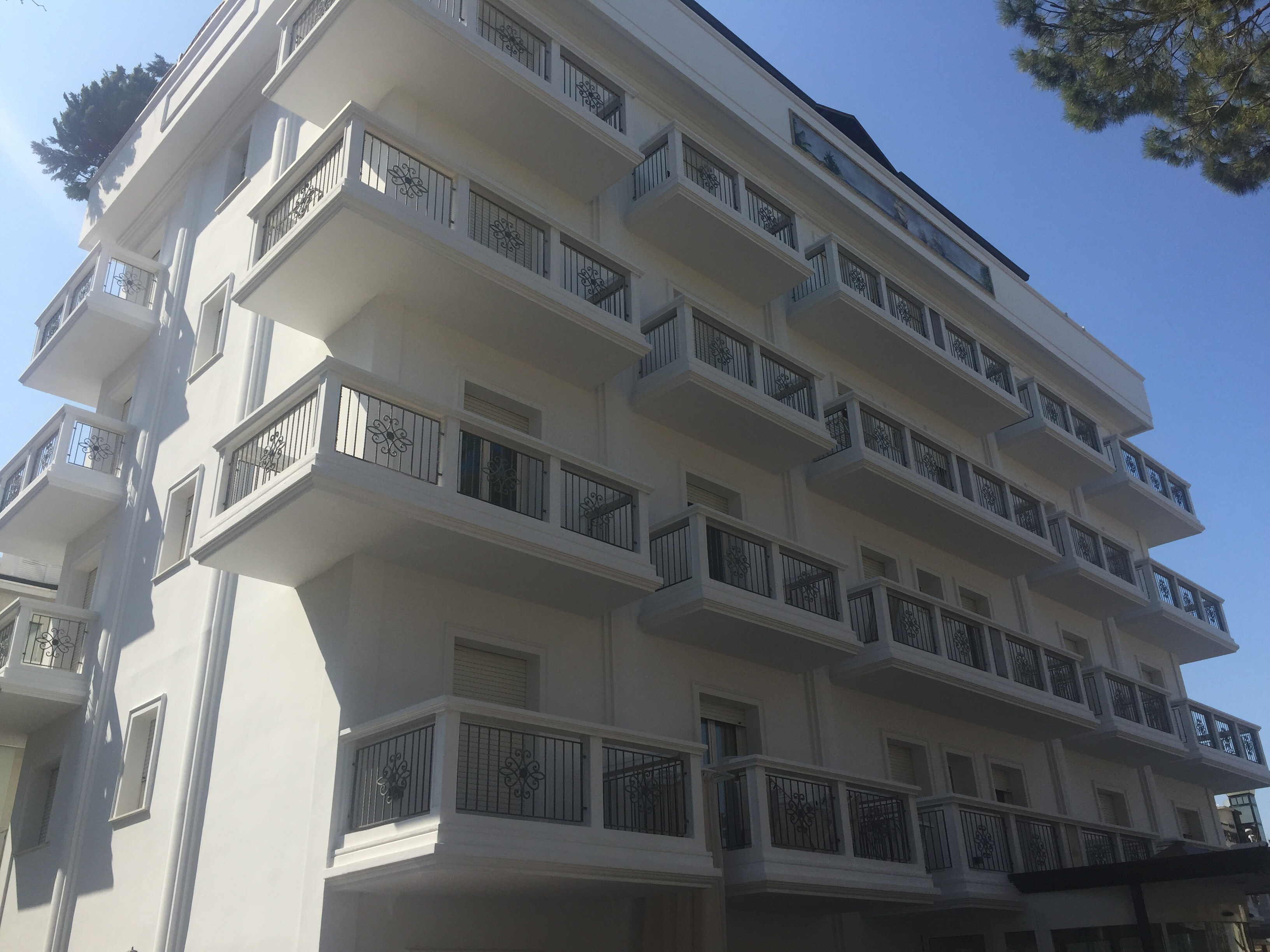 Residence per famiglie a Riccione relax